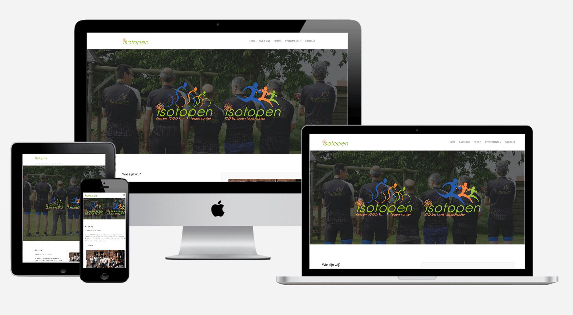 Istopen website preview